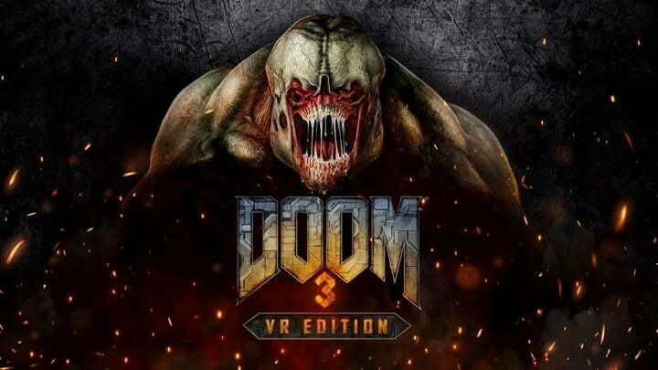 Sony announced Doom 3 for PlayStation VR