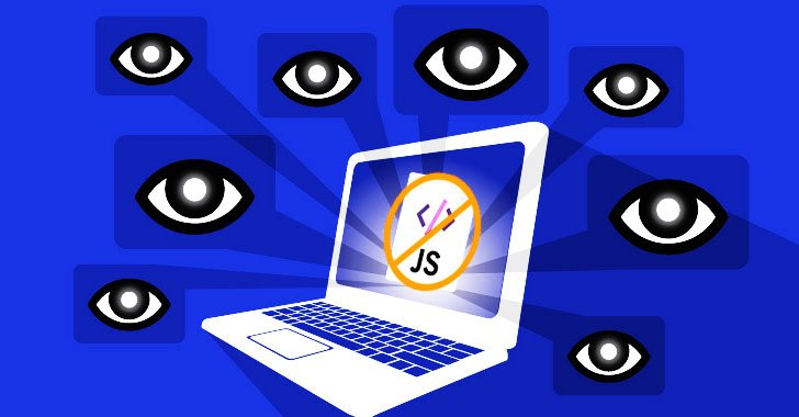 Web browser attack tracking users online without run a JavaScript