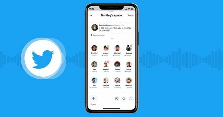Twitter 'Space' audio chat room feature going public from next month
