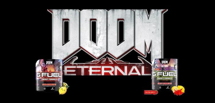 Doom Eternal is Getting Its Own G Fuel Energy Drinks