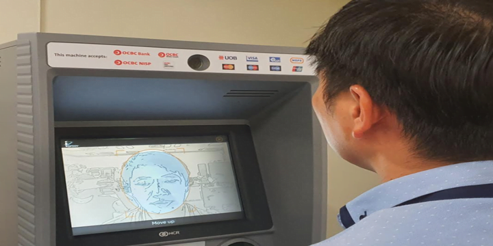 Singapore bank turns on face verification at ATMs