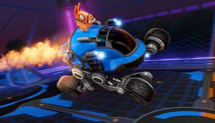 Fortnite & Rocket League Team Up With Another Llama-Rama