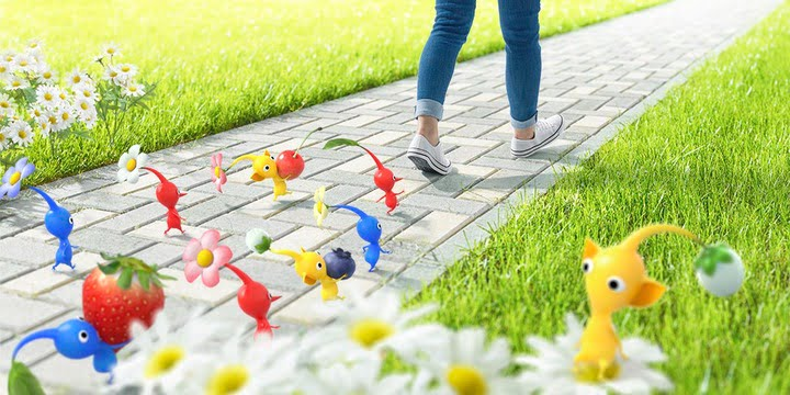 Niantic and Nintendo Announce New 'Pikmin' Augmented Reality Game