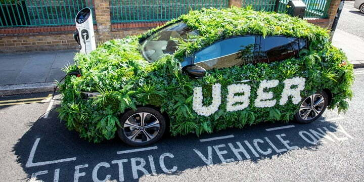 """Uber offers customers to book electric cars called 'Uber Green"""""""