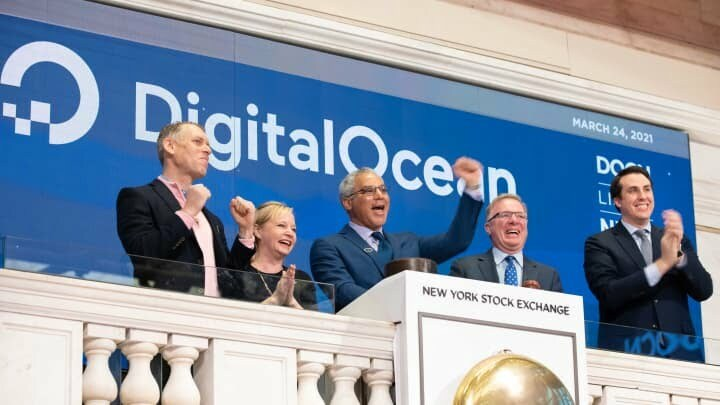 DigitalOcean starts trading on New York Stock Exchange (NYSE)