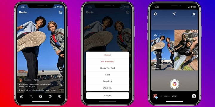 Instagram launches remix for reels, another TikTok feature