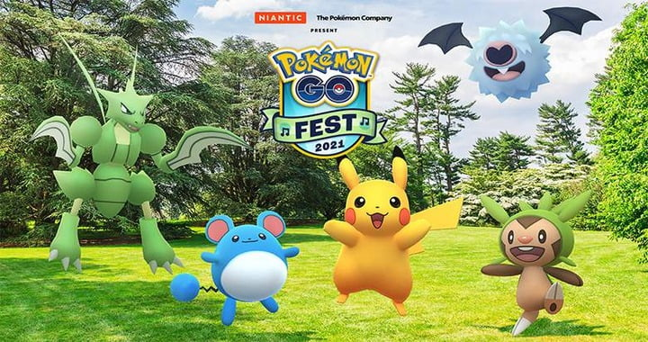 Pokemon GO Fest 2021 Announced, Meloetta Teased