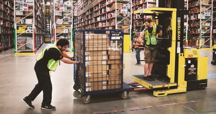 Amazon is hiring 75,000 people for transportation jobs