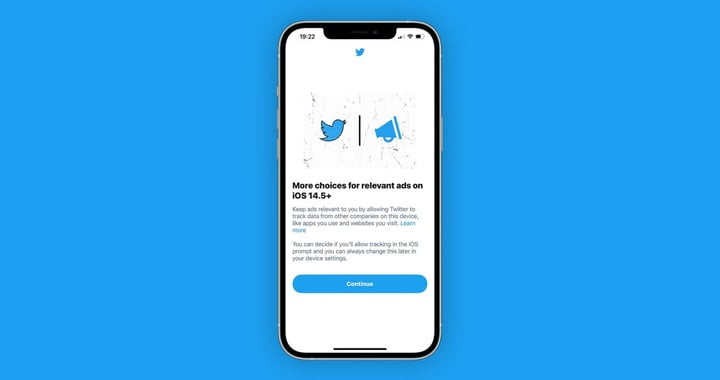 Twitter begins prompting iOS users to enable App Tracking