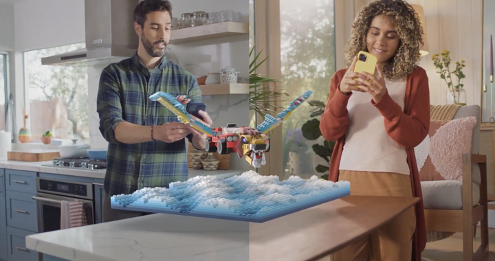 Snapchat gets augmented reality Legos you can build with a friend