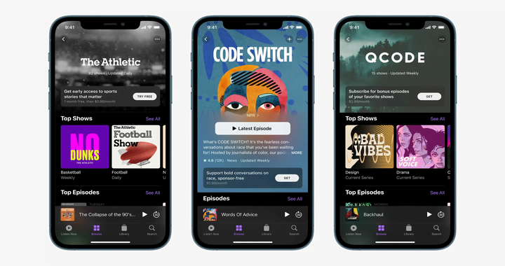 Apple Launches Podcasts Subscriptions