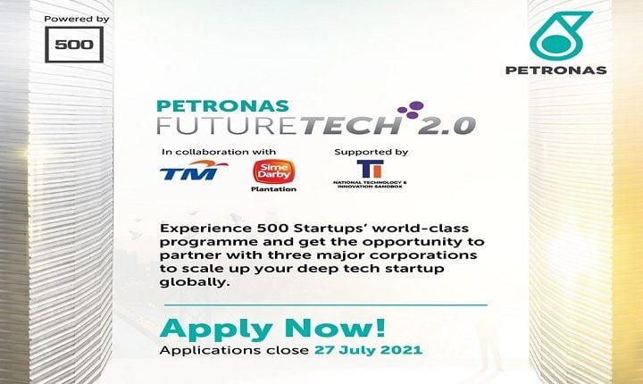 Petronas invites startups to take part in FutureTech 2.0