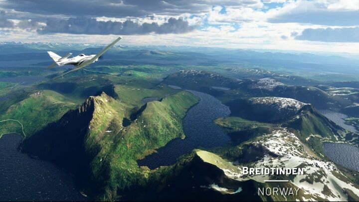 Microsoft Flight Simulator adds beautiful Nordic views in latest update