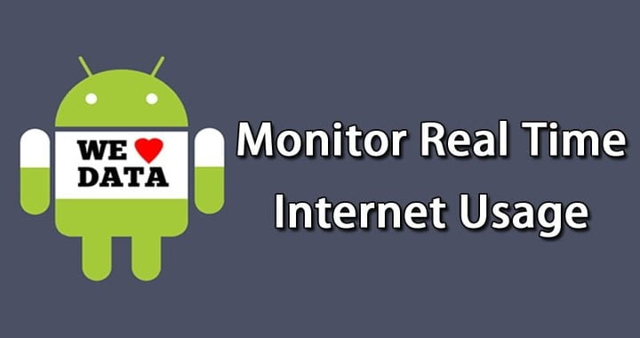 How To Monitor Real Time Data Usage on Android
