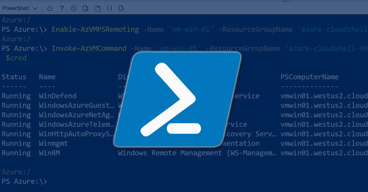 Microsoft Urges Azure Users to Update PowerShell to PatchRCE Flaw
