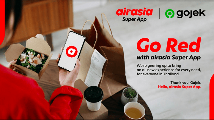 AirAsia Digital Acquired Gojek Business in Thailand For Its Super App