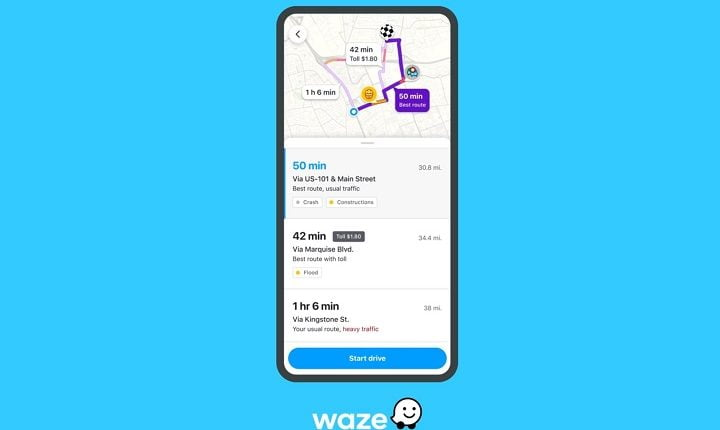 Waze new Pre-Drive feature spot traffic jam before you head out
