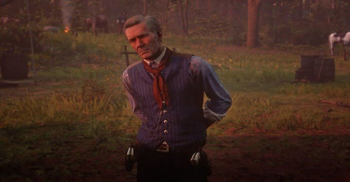 Red Dead Redemption 2 Fan Gives Arthur A Hosea-Themed Makeover