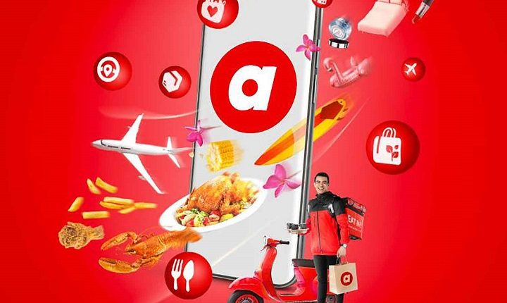 """AirAsia joins crowded food market as """"Airasia Food"""""""