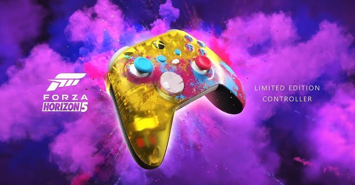 Forza Horizon getting colorful, translucent controller for Xbox Series X