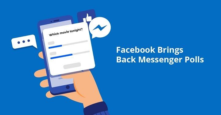 Facebook Messenger New Feature Lets You Poll Your Friends