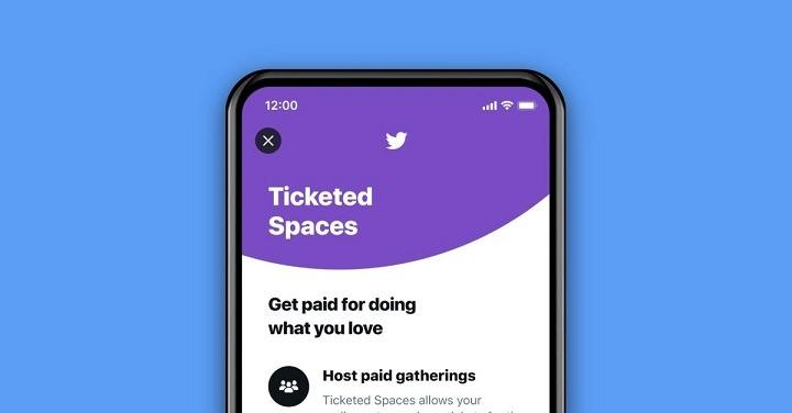 Twitter now rolling out Ticketed Spaces for iPhone users
