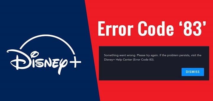 How to Fix Disney Plus Error Code 83