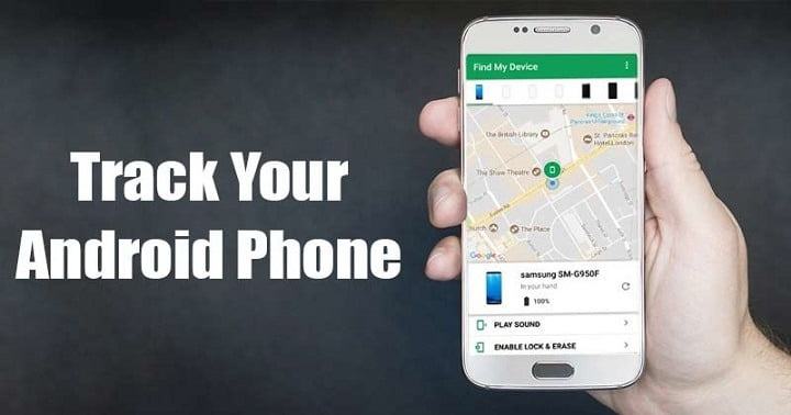 How to track your Android device without installing any App