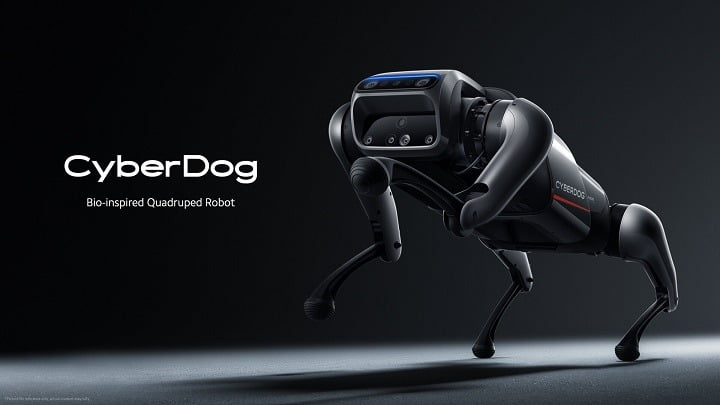 """Xiaomi has unveiled personable quadruped robot """"CyberDog"""""""