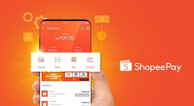 Shopee giving RM100 to new users for mobile wallet ShopeePay via eDuit