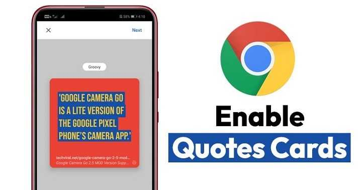 How to Create Quote Cards in Google Chrome