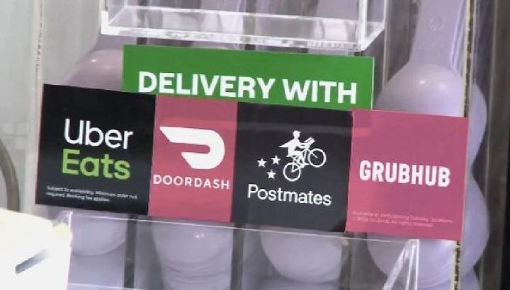 DoorDash, Grubhub, UberEats sue New York City over fee caps
