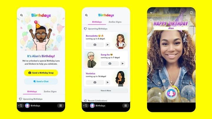 Snapchat introduces 'Birthday Mini' feature for birthday wishes
